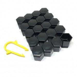 Bijon Kapağı Siyah A Kalite 20 Adet 17mm Sökme Aparat Hediyeli