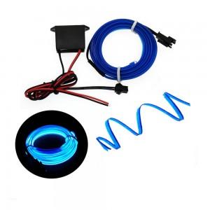 Mavi Fitilli İp Neon Led Torpido Şeridi 1 Metre