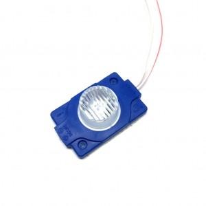 Power Led Modül Mercekli Tekli Led 1.5w 12 Volt Mavi