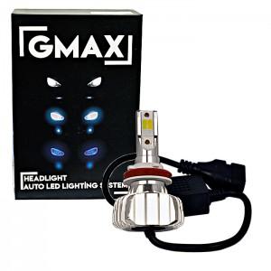 GMAX S400 H11 Sarı Beyaz Mavi 3 Renk Çakarlı Led Xenon