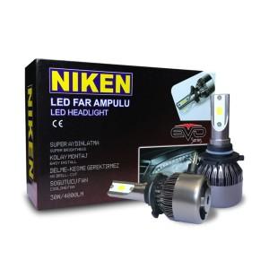 Niken H7 Evo Seri Led Xenon 6000K Beyaz 12V 30W 6500 Lümen